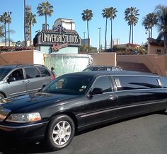 Los Angeles sightseeing by limousine; picture taken while VIP tour at Universal Studios