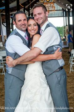 Brothers and Bride shot
