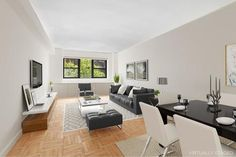 Learn more about this 1 Bedroom Cooperative for sale on East Street in Upper East Side - make an appointment with one of our realtors today! Master Suite, Master Bedroom, Manhattan Real Estate, Upper East Side, Open Layout, Entry Foyer, French Doors, Dining Area, York