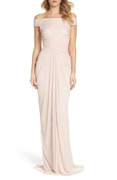 Adrianna Papell Adrianna Papell Sequin Lace & Tulle Gown available at #Nordstrom