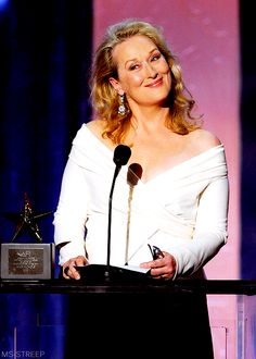 At the 38th AFI Life Achievement Award, saluting director Mike Nichols ~ 2010