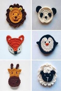 "09 2014 ~ ""Crochet of Mimi"" Crochet Mask, Crochet Faces, Love Crochet, Crochet Flowers, Crochet Fox, Crochet Applique Patterns Free, Baby Knitting Patterns, Crochet Motif, Crochet Designs"