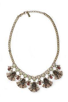Ruby Petals Necklace