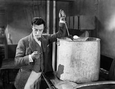 Buster Keaton in The navigator directed by Donald Crisp, 1924