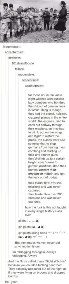 The Russian Night Witches