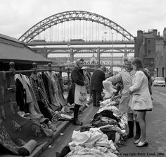 Paddy's Market and Tyne Bridges Newcastle upon Tyne Local History, British History, Family History, Gateshead Millennium Bridge, Newcastle Quayside, Newcastle United Fc, Newcastle England, Newcastle Gateshead, Northumberland Coast