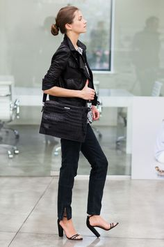 Emerson Portfolio Cross Body Bag - Croc | Emerson Fry
