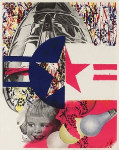 F-111 (Castelli Gallery poster) by James Rosenquist (1965)