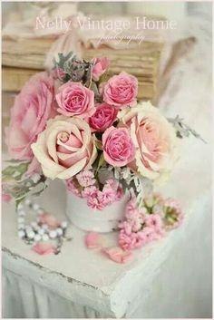 Pink roses | ❦ Rose Cottage ❦