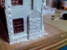 Mini Baby Steps: chimney 1:144 scale TUTORIAL