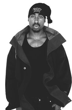 Tupac | #Portrait / #Celebrity / #Photography / Hip hop