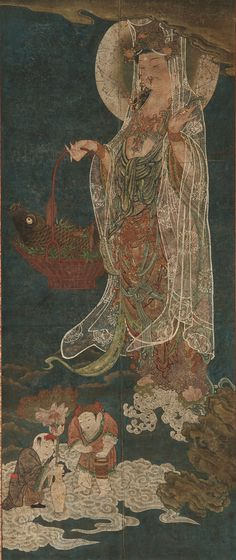 Chinese Art - Fish-basket Guanyin