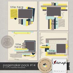 Pagemaker Pack 14 :: Templates :: Memory Scraps