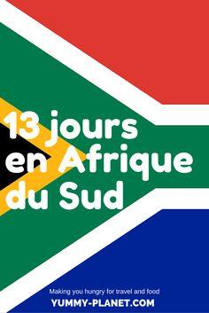 A la veille de notre départ pour l'Afrique du Sud, on vous livre un aperçu de notre itinéraire.
