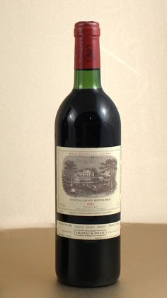 1 x Chateau Lafite Rothschild 1982 750ml