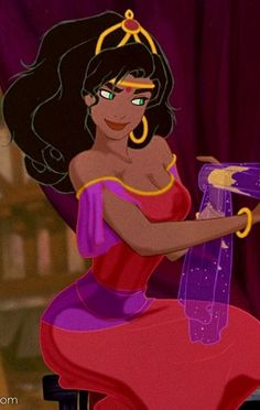 Esmeralda from The Hunchback of the Notre Dame, Disney
