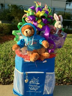 Kid Celebration! A Give Kids The World Gift www.OrlandoGiftBaskets.com