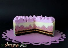 Sweets Recipes, Cake Recipes, Cooking Recipes, Entremet Recipe, Romania Food, Mirror Glaze Cake, Mousse Cake, Cake Flavors, Food Cakes