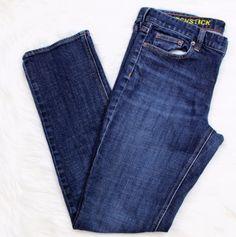 394a1d2e7eb1e J. CREW Sz 8  Matchstick Stretch Jean  Ladies Women Size 31 Short 32