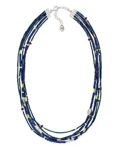 Into the Blue Necklace   Jewelry by Silpada Designs