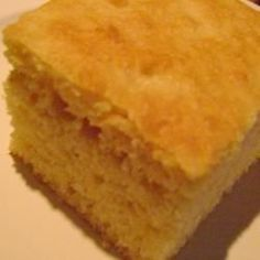This corn bread goes well with just about anything. I always make it when we have chili. The sour cream makes it nice and moist.