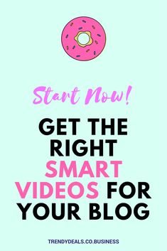 Smart Videos are the future, your blog needs something that can grab peoples attention https://skarp.trendydeals.co.business