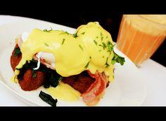 DIVINS egg benedict at Rose Bakery Tea Room, bon Marché, Paris!