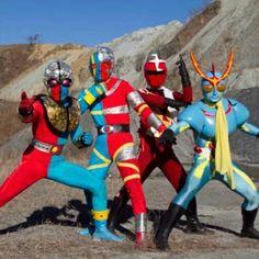 Kikaider, Kikaider 01, Zubat e Inuzaman. Henshin Hero - Tokusatsu