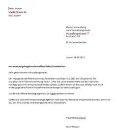 mietzinsreduktion musterbrief - Versicherung Kundigung Muster