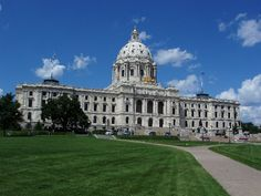minnesota capital | State capitol building in St Paul, Minnesota