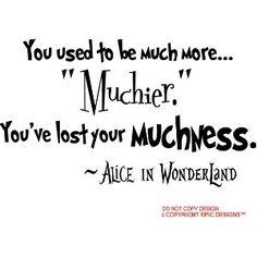 :) Love Alice in Wonderland