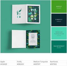 Дизайн в зеленых тонах