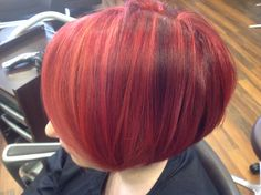 Multi tonal red by Gail