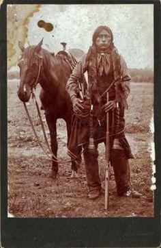 Comanche man - circa 1895