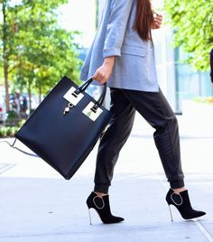 love the bag and shoes