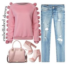 """""""street style"""" by ecem1 ❤ liked on Polyvore featuring WithChic, True Religion and Charlotte Russe"""