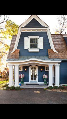 Paint exterior shutters house shutter colors decoration ideas white house shutter paint finish for exterior shutters Exterior Color Schemes, Exterior Paint Colors For House, Paint Colors For Home, Exterior Design, Siding Colors, Paint Colours, Modern Exterior, House Roof, Facade House