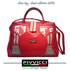 Handbag made with recycled PVC banner by Pivvicci - Craft in Sicily