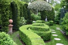 Very Formal English Garden Nicely Done