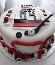 hockey cake | Flickr - Photo Sharing!