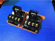 MOSFET wiring on A8 3D Printing Pinterest 3D