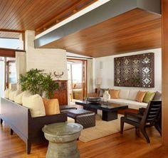 los angeles zen living room