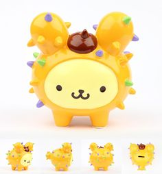 #tokidoki x #Sanrio Characters Holiday 2013 Collection #purin x Cactus Pup coin bank
