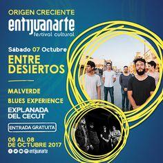 ¡Ya viene #Entijuanarte! aparta la fecha y sé parte de este gran evento de explosión cultural. #MAlVerde #CECUT #Tijuana #BluesExperience #Arte #Música #Galeria #Artistas #Bandas #Pintura #Fotografía #Cultura #Cultural #OrigenCreciente #BajaCalifornia #DescubreBC #DiscoverBaja #Baja