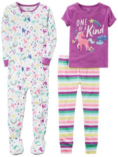 cee6356f8e1a Carter s Baby-Girl Cotton Snug-Fit Pajamas