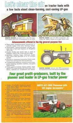 MINNEAPOLIS-MOLINE LPG Tractors Ad Vintage Tractors, Old Tractors, Vintage Farm, Vintage Signs, Minneapolis Moline, Agriculture Farming, Classic Tractor, Old Advertisements, Farm Life