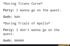 Titan's Curse and Trials of Apollo   PJO ToA   Poor Percy Jackson