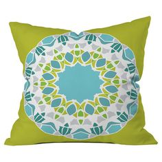 Transform your home into a plush bohemian retreat with this beautifully crafted pillow by artist Karen Harris for DENY Designs.   Pro...