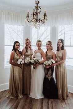 Elegant winter estate wedding | LethbridgeReal Weddings