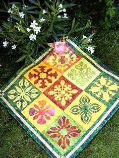 Haleakala Sampler Quilt Muster von CountryRosePattern auf Etsy